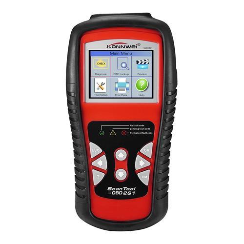 Vehicle Code Reader >> Konnwei Kw830 Obdii Vehicle Diagnostic Scanner Tool Car Trouble Code Reader Red Black