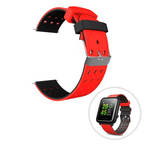 Xiaomi Huami Amazfit Replacement Strap Red Black