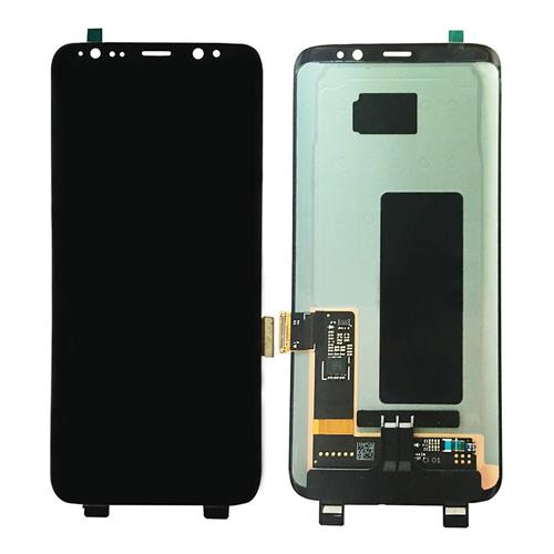LCD & Digitizer Assembly Replacement For SAMSUNG Galaxy S8 (Grade P) - Black