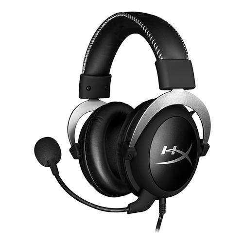 Kingston HyperX Cloud Silver Gaming Headset with Mic