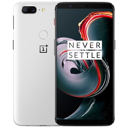 5T 6.01T Smartphone 18T 9: 835 FHD + Snapdragon schermo 8 Octa Core 128GB 20.0GB 16.0MP + XNUMXMP Dual Rear Cam OxygenOS NFC Dash Charge Tipo C Global ROM - Bianco