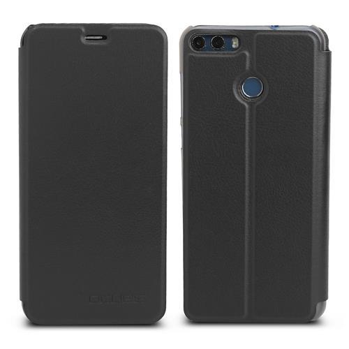 حالة الجلد رقيقة جدا للصدمات فليب غطاء حالة الهاتف واقية ل Ulefone MIX 2 - أسود