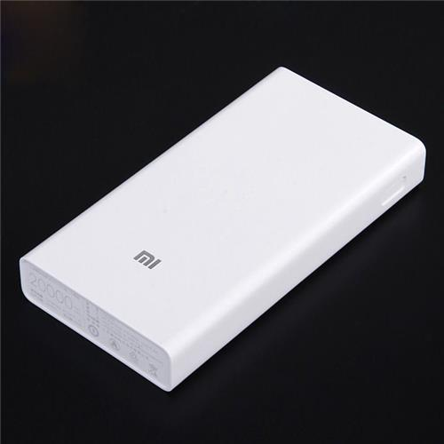 XIAOMI Quick Charge 2.0 20000mAh Power Bank Dual USB External Battery for XIAOMI Apple MacBook Samsung HTC Google Blackberry