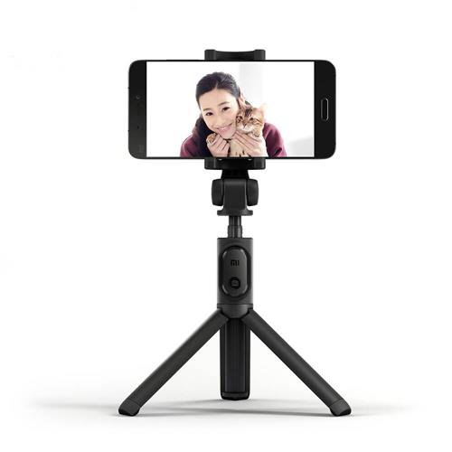 Xiaomi Mi Selfie Stick Tripod Bluetooth Wireless Self Timer for iOS/Android Smartphone - Black
