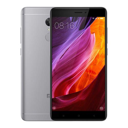 Xiaomi Redmi Note 4 5.5 Inch 2.5D Arc Screen Snapdragon 625 Octa-core MIUI 8 4G LTE 3GB RAM 32GB ROM Smartphone 13.0MP Touch ID 4100mAh Global Version - Gray