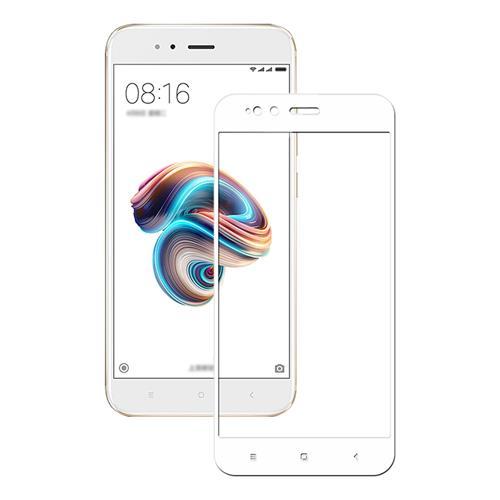 White Xiaomi Mi 5X/A1 Tempered Glass 0.26mm Full Screen Explosion-proof Membrane Screen Film фото