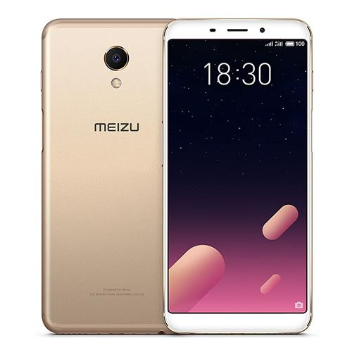 Meizu M6s 5.7 Inch 4G LTE Smartphone 18:9 Full Screen Exynos 7872 Hexa Core 3GB 64GB 16.0MP Camera Touch ID - Gold
