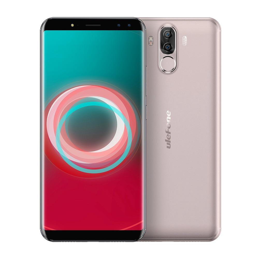 Ulefone Power 3S 6.0 pollici Smartphone schermo FHD 4GB 64GB Quattro telecamere Helio P23 Octa Core Android 7.1 Touch ID 6350mAh - Oro