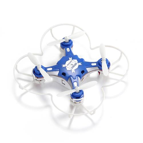 FQ777-124 Micro Drone 4CH 6Axis Gyro Pocket Quadcopter Switchable Controller CF Mode RTF - Random Color