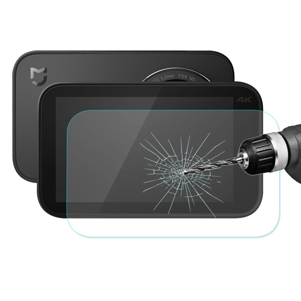 Hat-Prince Ultra-cienki 9H 2.5D Arc Hartowana folia ochronna do kamery Xiaomi Mijia 4K - przezroczysta