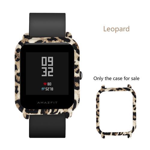 Προστατευτική θήκη για το Huami Amazfit Lite Smartwatch Πινακίδα πολλαπλών χρωμάτων - Leopard