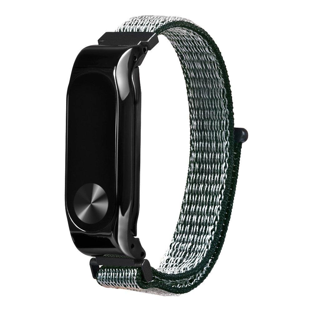 استبدال المعصم حزام لبس النايلون معصمه ل زياومي مي الفرقة شنومكس سوار الذكية-الأخضر
