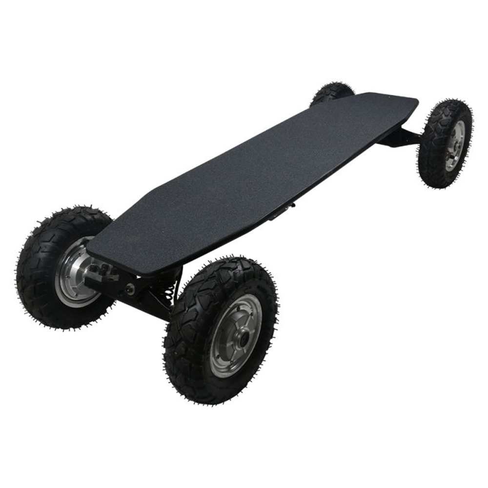 SYL-09 Electric Skateboard With Remote Control Cross-country Type Electric Skateboard - Black