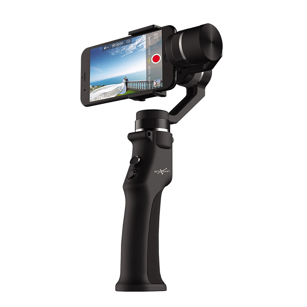Beyondsky Eyemind 3-Axis Intelligent Handheld Gimbal for Smartphone - Black
