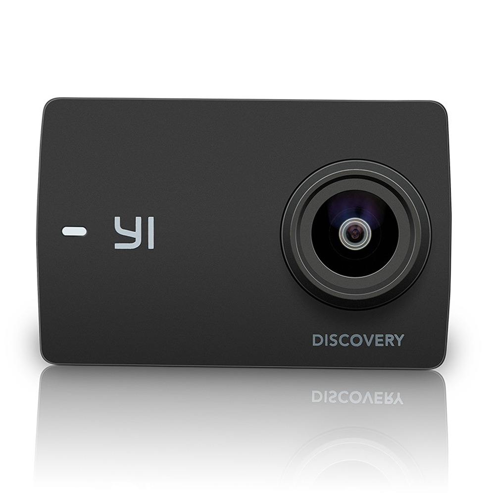 YI Discovery Yi-A9SE100 Sony IMX179 2.0 Inch LCD Action Camera 4K WiFi 150 Degree Wide Angle - Black