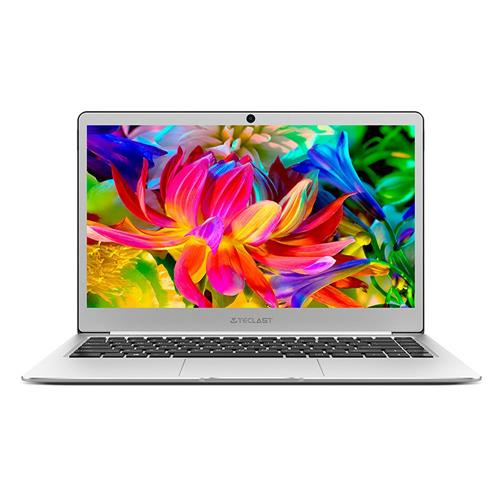 Teclast F7 Business Laptop Intel Apollo Lake N3450 Quad Core 14 Inch 1920*1080 6GB RAM 128GB SSD Windows 10 - Silver