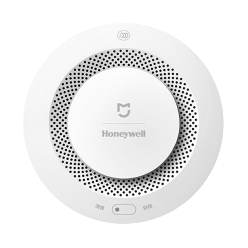 Xiaomi Honeywell Fire Alarm Detector APP Remote Monitor System Photoelectric Smoke Sensor -White