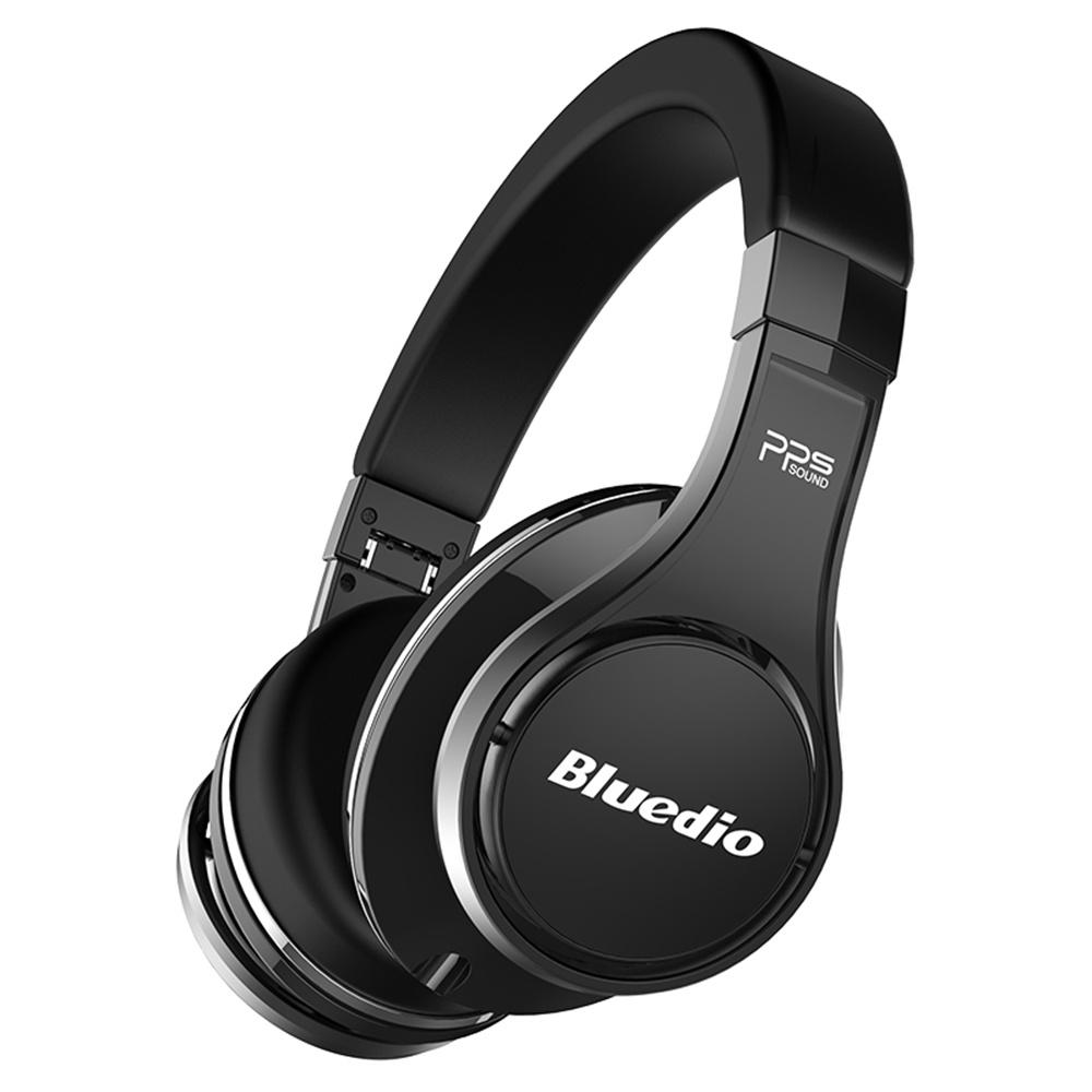 Bluedio Ufo Bluetooth Headphones With Mic Black