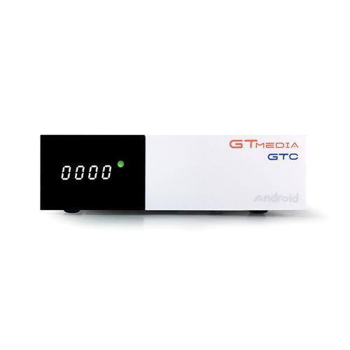 GTMEDIA GTC DVB-T2 / S2 / C ISDB-T S905D DDR4 2GB eMMC 16GB 4K TV BOX Támogatás Cccam Newcam Powervu Biss Key