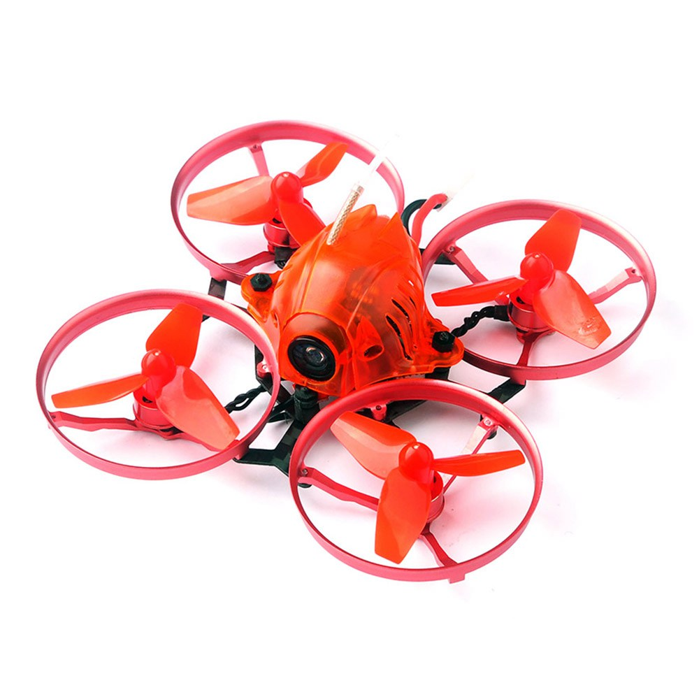 Happymodel Snapper7 75mm FPV Brushless Whoop Racing Drone with Crazybee F3 OSD 5A ESC Frsky Receiver BNF - Three Batteries