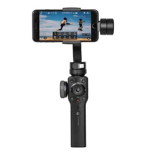 Zhiyun Smooth 4 3-Axis Brushless Handheld Gimbal Stabilizer for Smartphone - Black