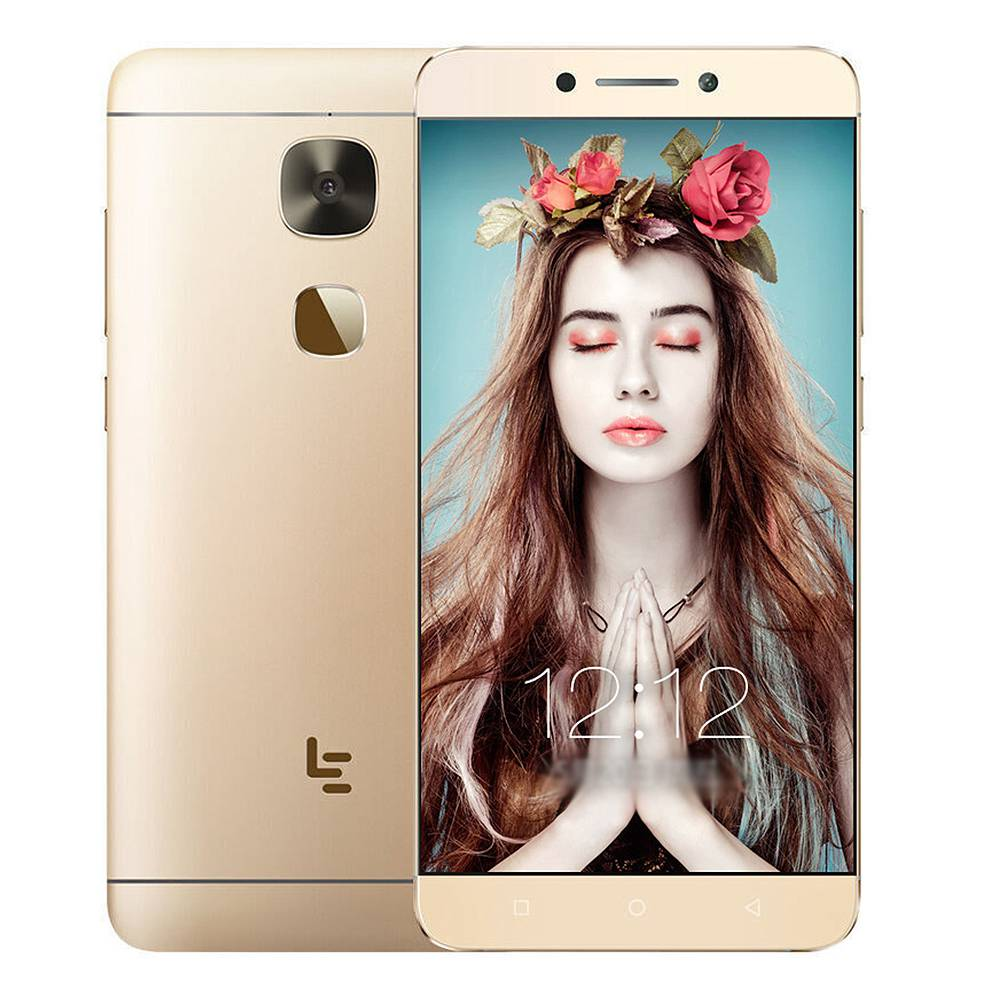 LeTV LeEco Le S3 X522 5.5 Inch 4G LTE Smartphone Qualcomm Snapdragon 652 Octa Core 3GB 32GB 16.0MP FHD Screen Android 6.0 - Gold