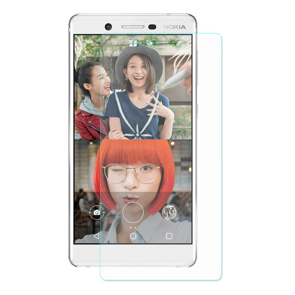 Nokia 7  9H Tempered Glass Screen Protector  0.26 mm 2.5D Explosion-proof Membrane Screen Film Protector- Transparent Hat-Prince