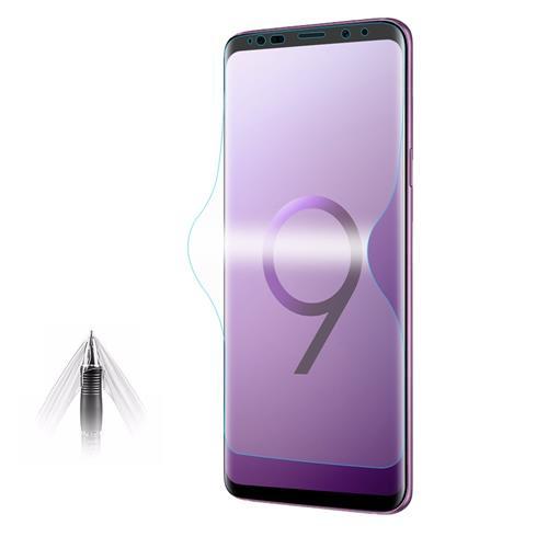Galaxy S9 9H Protecteur d'écran en verre trempé Film de protection en plein écran - Transparent