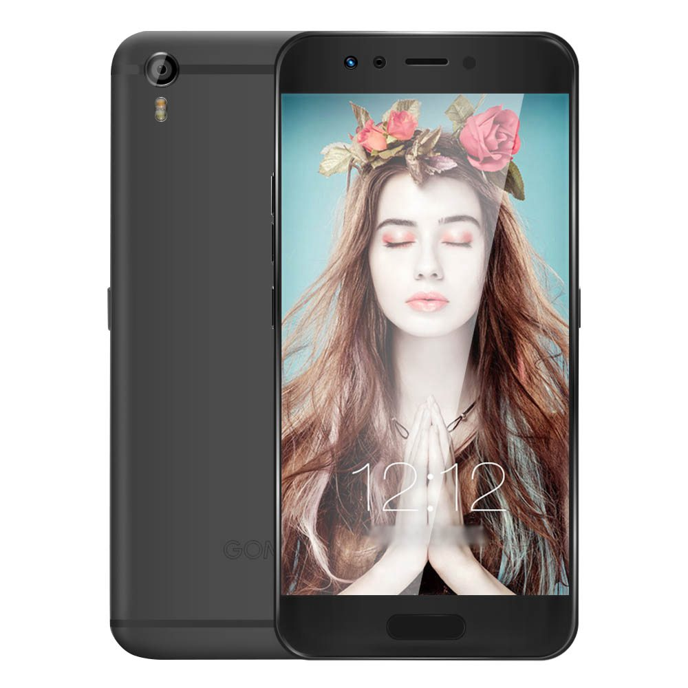 GOME K1 5.2 Inch 4G LTE  FHD Screen Smartphone Helio P20 MTK6757 2.3GHz 4GB RAM 128GB ROM 16MP Android 6.0 Iris Recognition - Gray