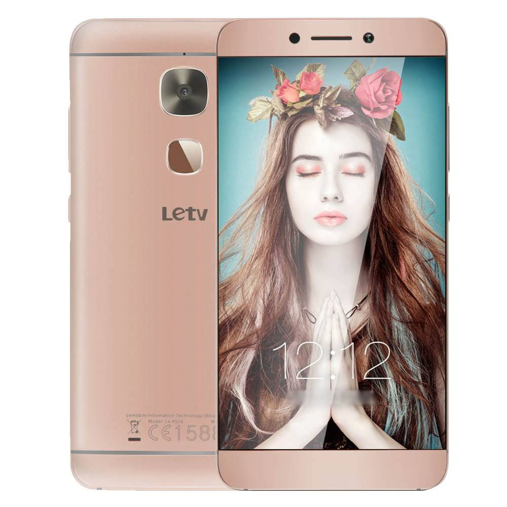LeTV LeEco Le X526 5.5 Inch 4G LTE FHD Screen Smartphone Qualcomm Snapdragon 652 3GB 32GB 16.0MP Android 6.0 Touch ID - Rose Gold