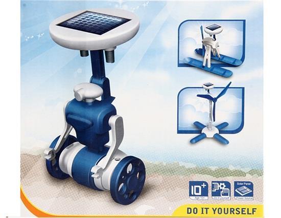YM0315X 6 in 1 Educational DIY Solar Kit Toy фото
