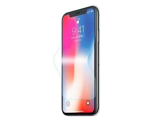 Hut Prince 3D Soft Edge Hartglas Full Screen Cover für 5.8 Zoll iPhone X - Durchsichtig