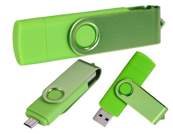 Clé USB pour téléphone portable OTG 64GB OTG - Vert