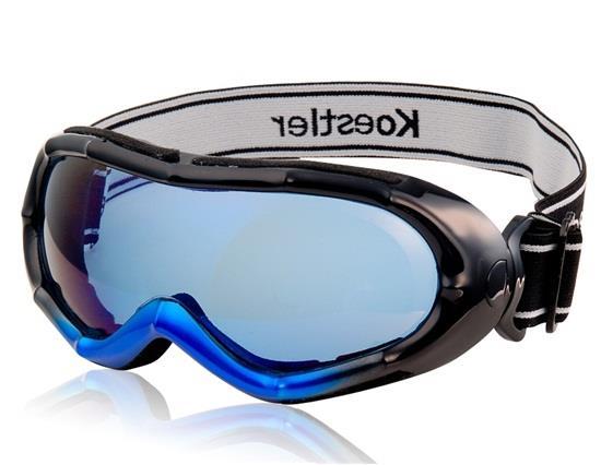 Bamboo Design Stylish Windproof Ski Goggles -Blue