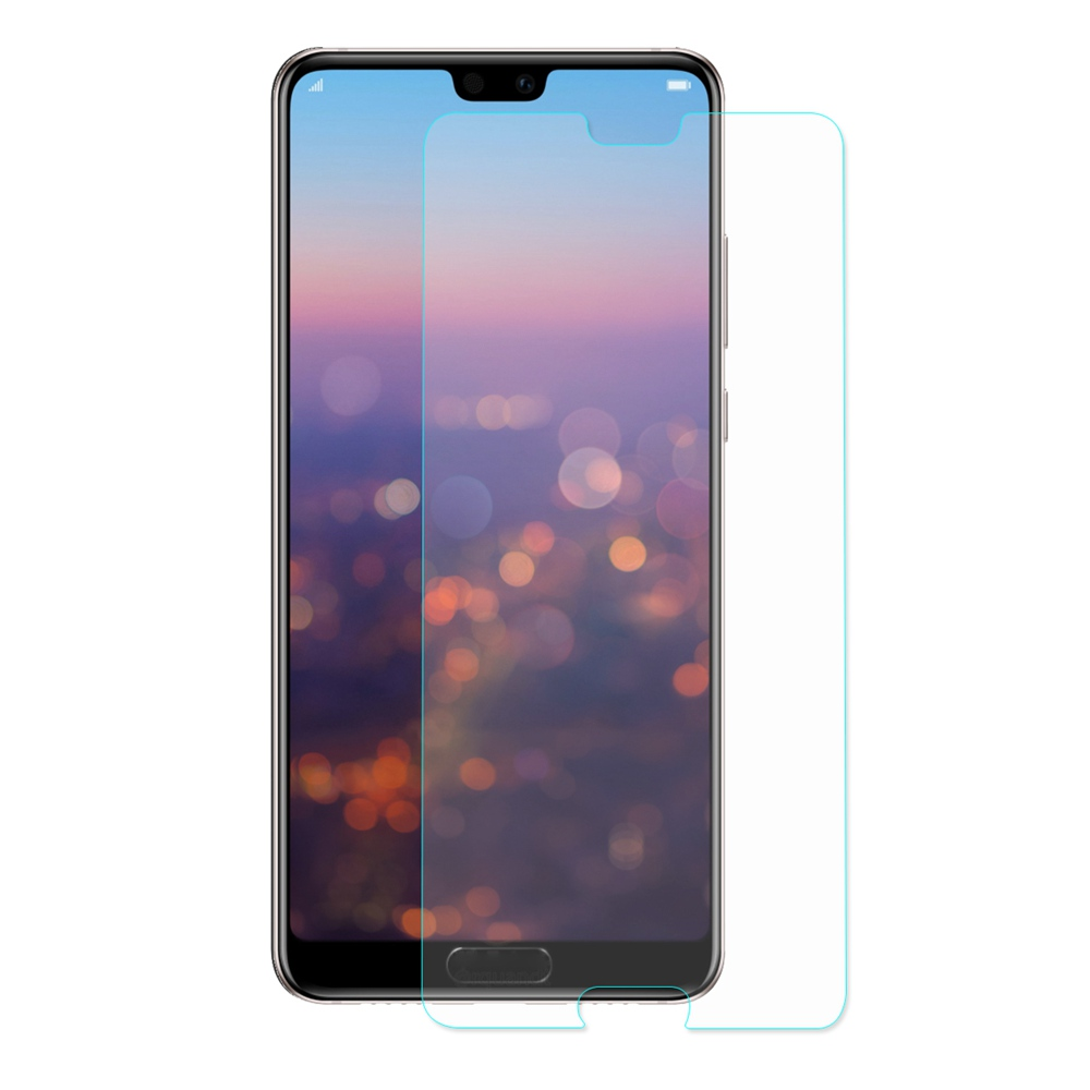 Hat-Prince 9H Tempered Glass Screen Protector For HUAWEI P20 Pro 0.26mm 2.5D Membrane Glass Film - Transparent