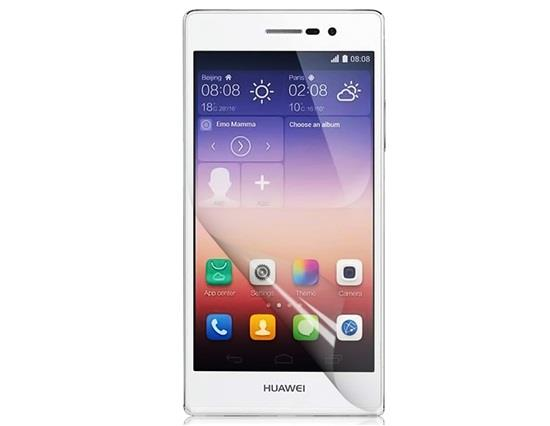 Ultra Clear LCD Screen Protector For HUAWEI P7 - Transparent фото