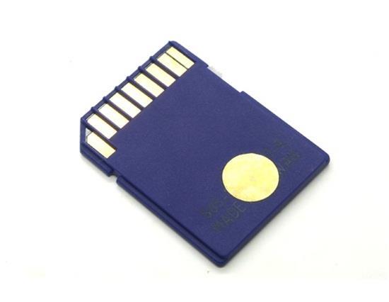 2GB SD memóriakártya támogatja a Windows / Mac OS Plug and Play kártyát - kék