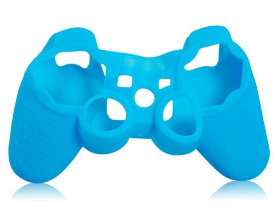 Glow-in-the-Dark Silikonväska för PS3 Controller - Blå.