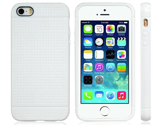 Protective TPU Case for iPhone 5/5S (White) Other