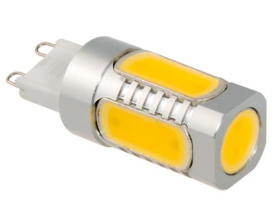 G9 7.5W 85-265V Warm White 3000-3200K 600LM LED Corn Light фото
