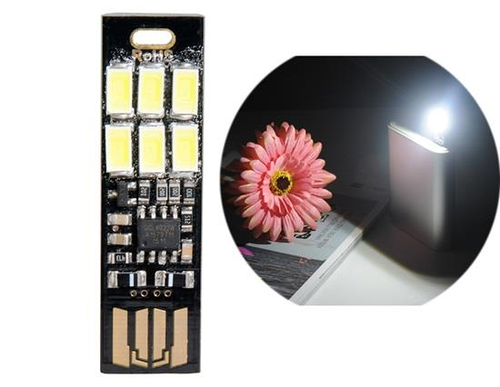 5V 6 * 5630 Dimmable USB LED lámpa