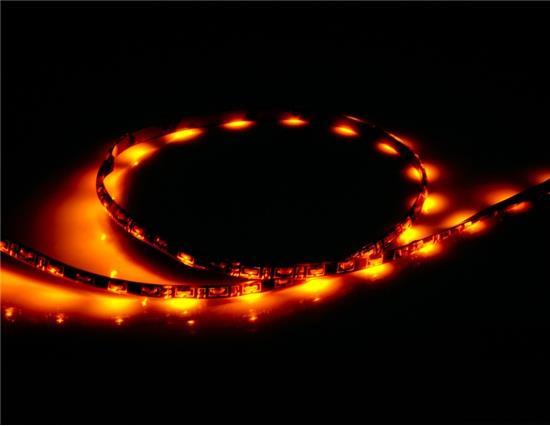 60 cm 60-LED Wit Geel Licht Flexibele LED-verlichtingsstrip - Wit + Geel