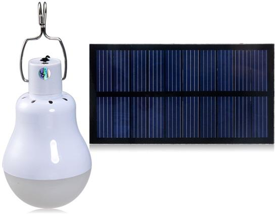 1.2W Solar Energy Lamp with Solar Panel