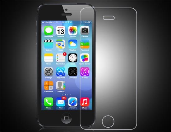 Newtop Premium Tempered Glass Screen Protector for iPhone5/5S (Transparent) фото