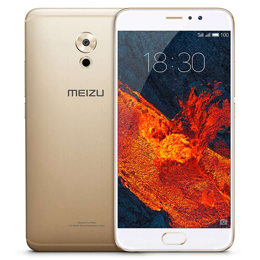 MEIZU PRO 6 Plus 5.7 Inch Smartphone Exynos 8890 4GB 64GB 12.0MP Rear Camera Flyme OS 2K Screen Touch ID Global Version - Gold