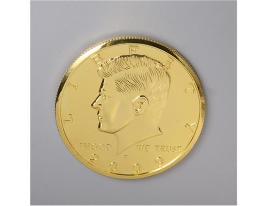 Moneta magica Jumbo Kennedy Moneta da mezzo dollaro - Oro