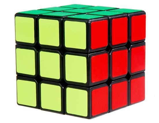 Yongjun Weilong 56 mm 3 x 3 x 3 Magic Cube - Black Other