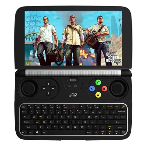 GPD WIN 2 Gamepad Tablet PC Intel Core m3-7Y30 Quad Core 6.0 Inch 1280*720 Windows 10 8GB RAM 128GB ROM SSD - Black