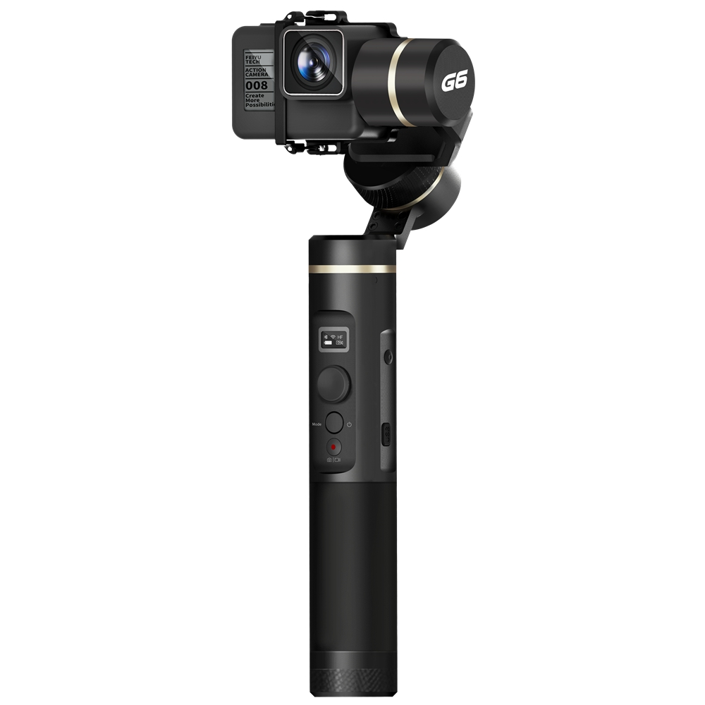 Feiyu Tech G6 3-Axis Brushless Handheld Gimbal Stabilizer for GoPro HERO6 HERO5 RX0 Action Camera