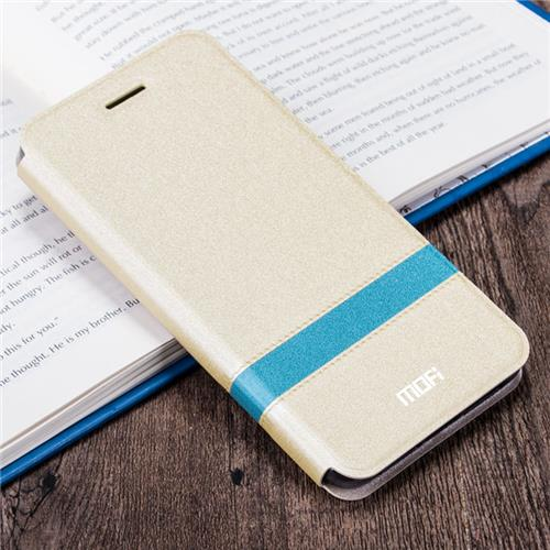 MOFI Leather Case For Meizu M3 Note - Gold фото